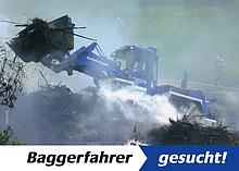 Baggerfahrer für unsere Fachgruppe Infrastruktur gesucht ...