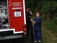 Die Gießener Feuerwehr zu Besuch