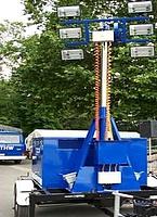 Lichtmastanhänger nach StAN 20 kVA
