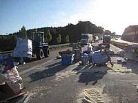 Unfall A5 - Lagerplatz Autobahn