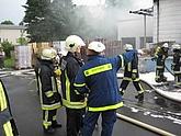 Einweisung durch die Feuerwehr