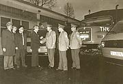 1983 - Übergabe des ABC-Erkunndungskraftwagens