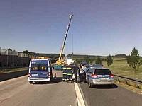 Unfall A5 - Einsatzende bald in Sicht