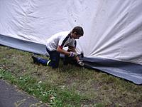 Aufbau des Lagers