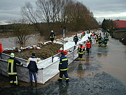Hochwasser in Hungen