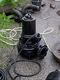 Abwassertauchpumpe