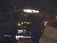 Feuer in Gießen