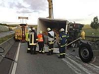 Unfall A5 - Einsatzbesprechung