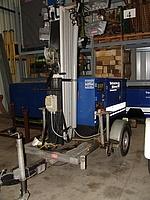 Lichtmastanhänger 6000 W 10 kVA