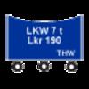 Taktisches Zeichen - LKW Lkr